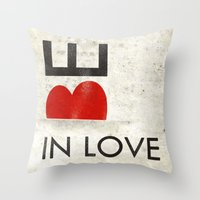 BE IN LOVE Throw Pillow