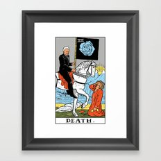 XIII-Death Framed Art Print