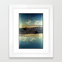 Landscapes c13 (35mm Double Exposure)  Framed Art Print