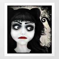 Dear little doll series... EUGENIA Art Print