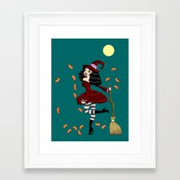 Be Witched! Framed Art Print