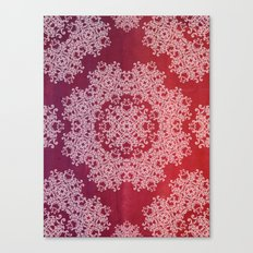 Playing with a lace - dresser from Grandma Canvas Print