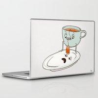 tea Laptop & iPad Skins featuring Tea Baggin' by Phil Jones