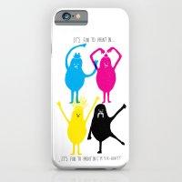 It's Fun To Print In CMY… iPhone 6 Slim Case
