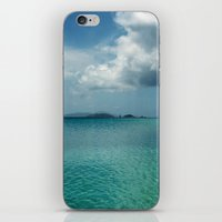Caribbean Sea View iPhone & iPod Skin