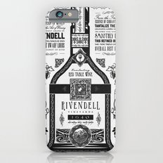 Lord of the Rings Rivendell Vineyards Vintage Ad iPhone 6 Slim Case