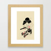 Unplug Framed Art Print