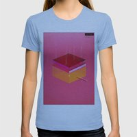 Toast: Facebook Shapes &… Womens Fitted Tee Athletic Blue SMALL