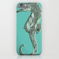 iPhone & iPod Case featuring Seahorse by Rachel Russell