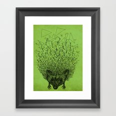 Thorny hedgehog Framed Art Print