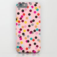 iPhone & iPod Case featuring Confetti #3 by Michelle Nilson