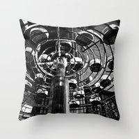 Candle Wick  Throw Pillow
