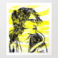 Catie Art Print