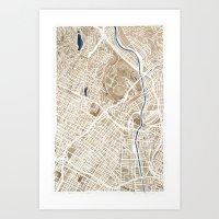 Los Angeles California C… Art Print