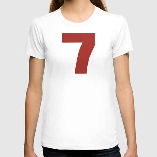 Number 7 T-shirt