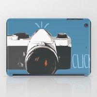 Click! - camera iPad Case
