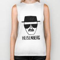 Heisenberg - Breaking Bad Sketch Biker Tank