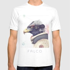 Star Team - Falco Mens Fitted Tee White SMALL