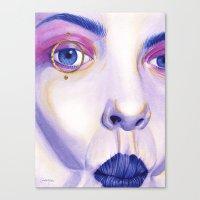 Close Up 4 Canvas Print