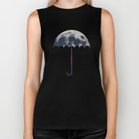 Space Umbrella Biker Tank