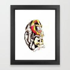 Mandril Framed Art Print