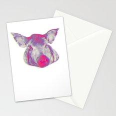 pork head Stationery Cards