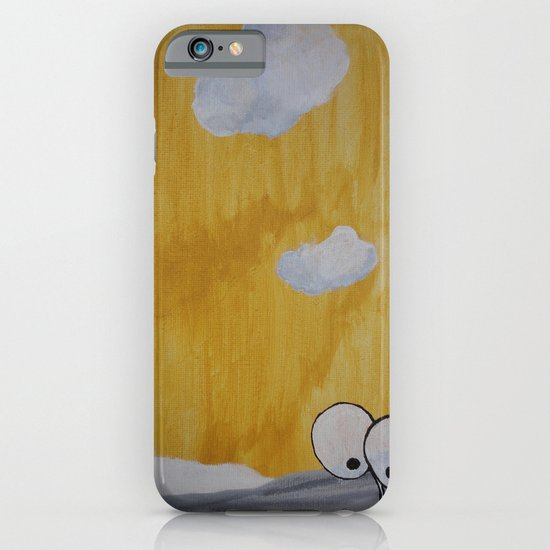 Plant with Yellow Sky iPhone & iPod Case