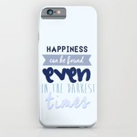harry potter iPhone & iPod Cases featuring Harry Potter Quote by Sümeyra Altunok