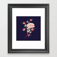 Bouquet   Floral Framed Art Print