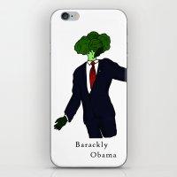 Barackly Obama iPhone & iPod Skin