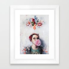 Selfportrait Framed Art Print