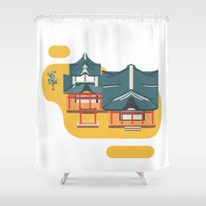 Kyoto icon Shower Curtain