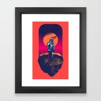 Awakening in a Strange Land Framed Art Print