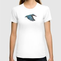 Terror From Above Womens Fitted Tee White SMALL