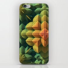 Pyramid Flower iPhone & iPod Skin