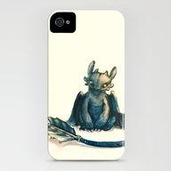 Toothless iPhone (4, 4s) Slim Case