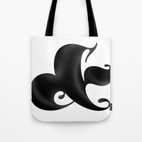 Bold Ampersand Tote Bag