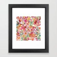 Watercolor Meadow Framed Art Print