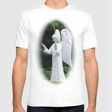Rueful Guardian 1967 SMALL Mens Fitted Tee White