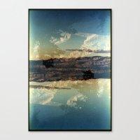 Landscapes c13 (35mm Double Exposure)  Canvas Print