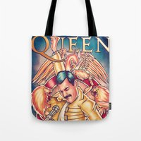 Don't Stop Queen Now Tote Bag