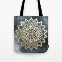 BOHO NIGHTS MANDALA Tote Bag