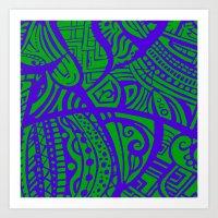 Abstractish 2  Art Print