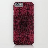 iPhone & iPod Case featuring Pink Halftone Flowers by Joshua Rayfield [Spyder Acidburn]