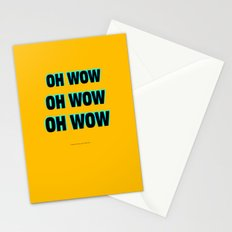 OH WOW #1 Stationery Cards