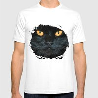 BLACK MAGIC Mens Fitted Tee White SMALL