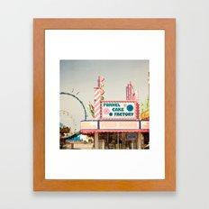 Carnival Funnel Cake Factory  Framed Art Print
