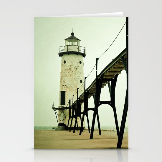 Manistee Light Stationery Card