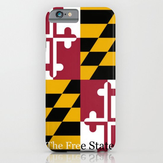 The Free State, Maryland iPhone & iPod Case