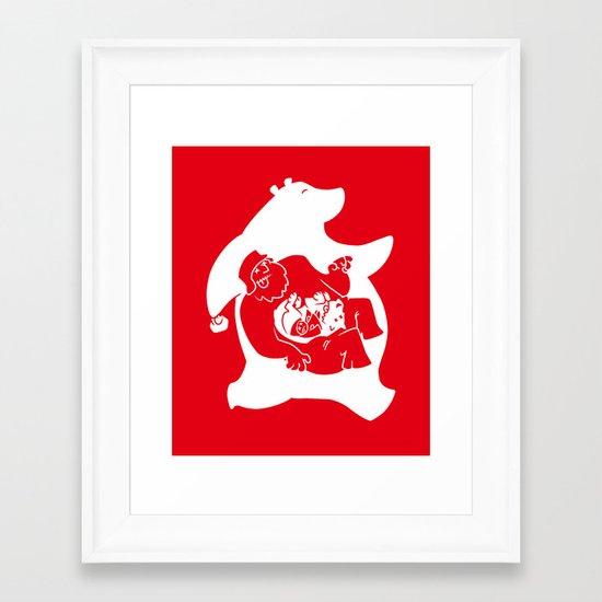My Forest Framed Art Print